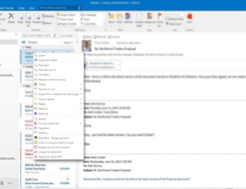 Rangez vos e-mails dans Integrix Ticket directement depuis Outlook